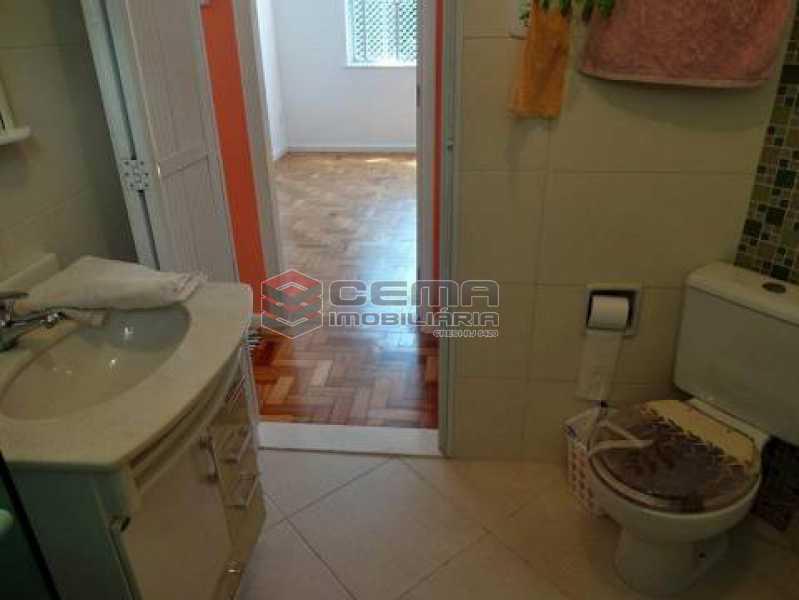 banheiro - Apartamento à venda Rua Pedro Américo,Catete, Zona Sul RJ - R$ 380.000 - LAAP12637 - 10