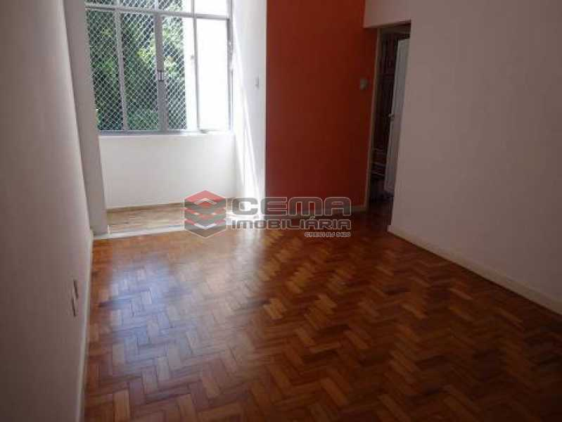 sala - Apartamento à venda Rua Pedro Américo,Catete, Zona Sul RJ - R$ 380.000 - LAAP12637 - 3