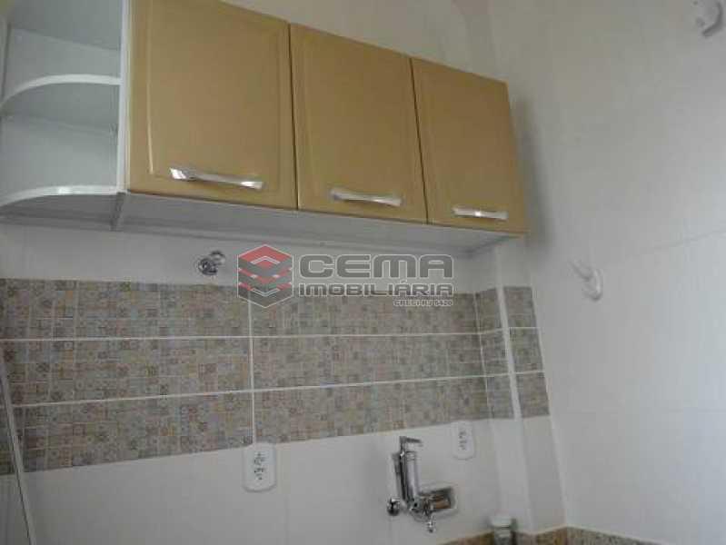 cozinha - Apartamento à venda Rua Pedro Américo,Catete, Zona Sul RJ - R$ 380.000 - LAAP12637 - 8