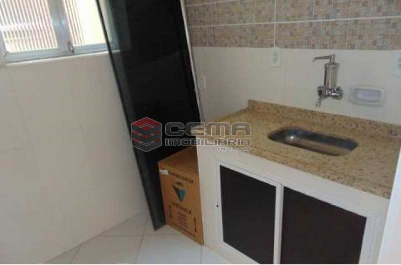 cozinha - Apartamento à venda Rua Pedro Américo,Catete, Zona Sul RJ - R$ 380.000 - LAAP12637 - 12