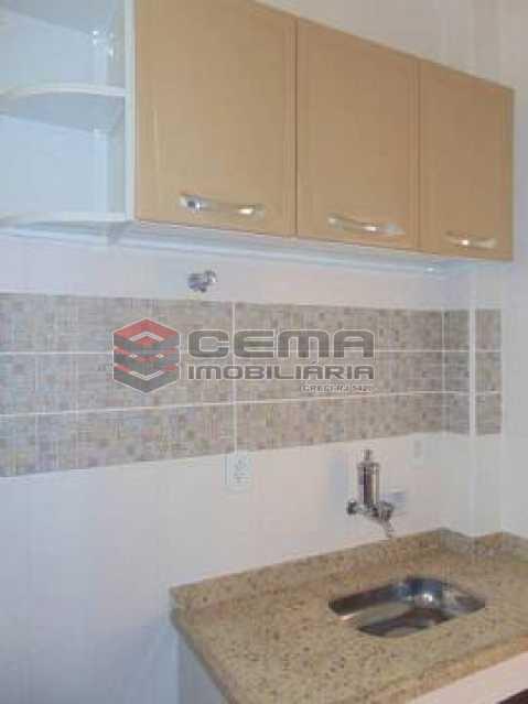 cozinha - Apartamento à venda Rua Pedro Américo,Catete, Zona Sul RJ - R$ 380.000 - LAAP12637 - 14