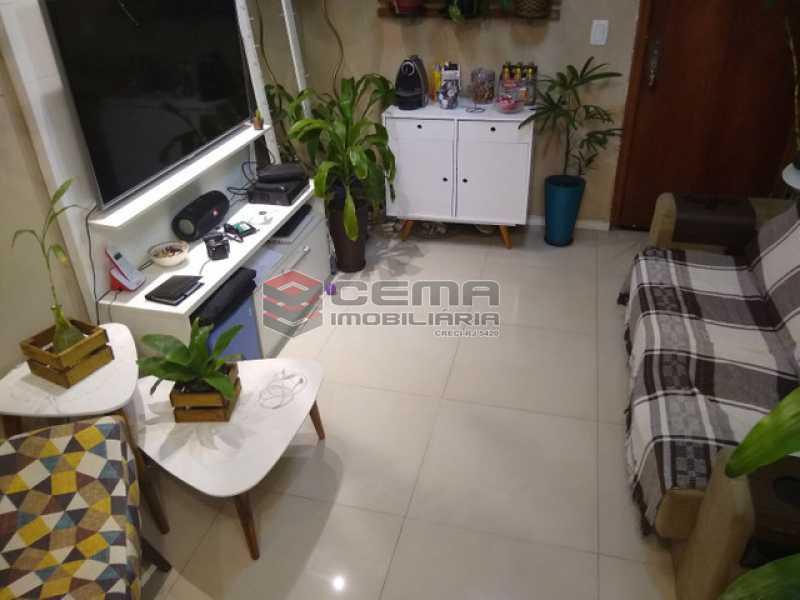 5 - Apartamento 1 quarto à venda Humaitá, Zona Sul RJ - R$ 595.000 - LAAP12664 - 1