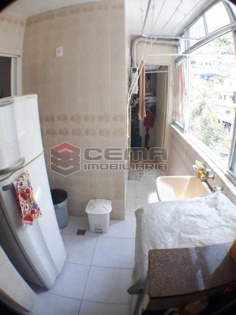 área de serviço - Apartamento 2 quartos para alugar Laranjeiras, Zona Sul RJ - R$ 2.000 - LAAP24778 - 18