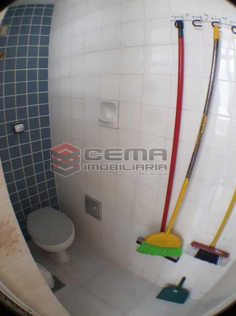 banheiro de serviço - Apartamento 2 quartos para alugar Laranjeiras, Zona Sul RJ - R$ 2.000 - LAAP24778 - 19