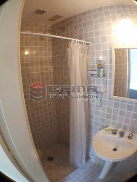 banheiro suíte. - Apartamento 2 quartos para alugar Laranjeiras, Zona Sul RJ - R$ 2.000 - LAAP24778 - 14