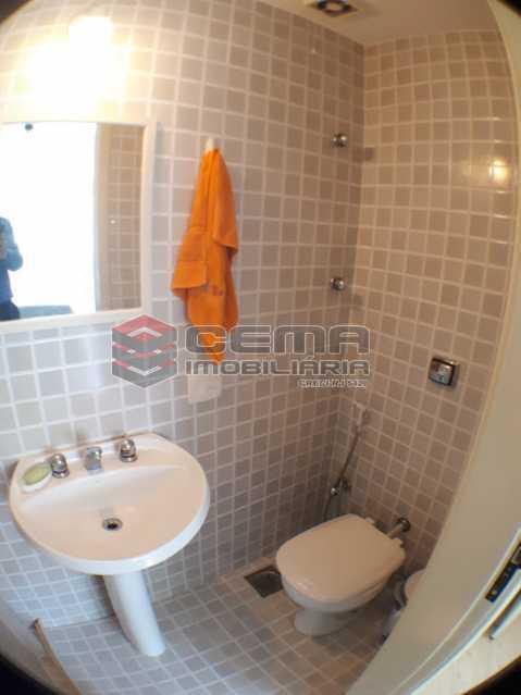 banheiro suíte - Apartamento 2 quartos para alugar Laranjeiras, Zona Sul RJ - R$ 2.000 - LAAP24778 - 13