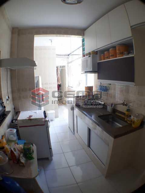 cozinha - Apartamento 2 quartos para alugar Laranjeiras, Zona Sul RJ - R$ 2.000 - LAAP24778 - 16