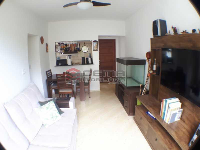 sala - Apartamento 2 quartos para alugar Laranjeiras, Zona Sul RJ - R$ 2.000 - LAAP24778 - 1