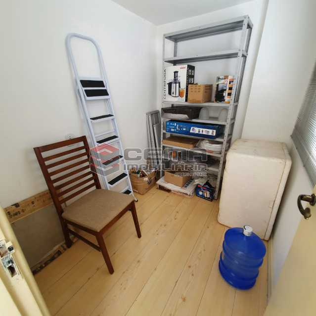 quarto de serviço - Apartamento 2 quartos para alugar Laranjeiras, Zona Sul RJ - R$ 2.000 - LAAP24778 - 20