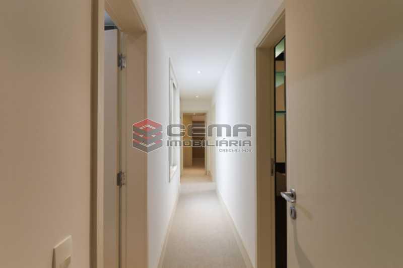 corredor - Amplo 4 quartos com suite no melhor quadrilátero de Ipanema - LAAP40893 - 9