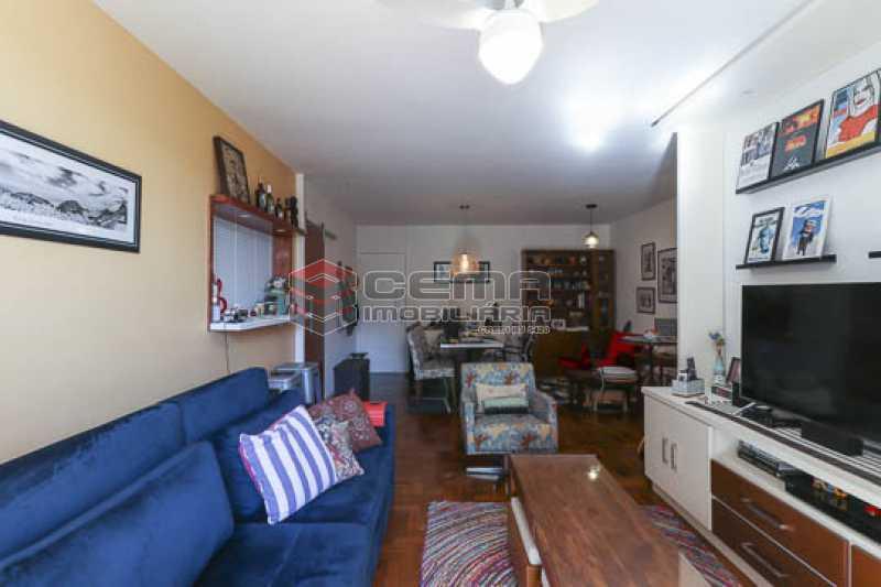 sala1.1 - Apto Laranjeiras para venda com 2 quartos, suíte, varanda, garagem e infraestrututa - LAAP24794 - 5