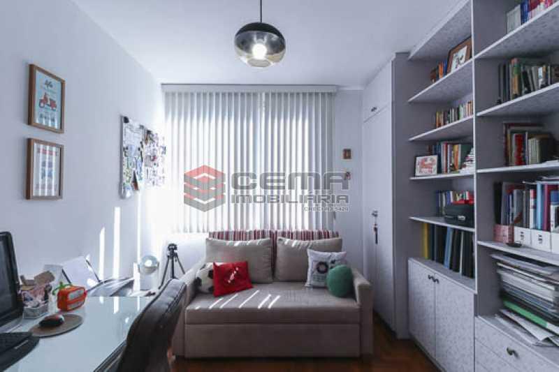 quarto2 - Apto Laranjeiras para venda com 2 quartos, suíte, varanda, garagem e infraestrututa - LAAP24794 - 13