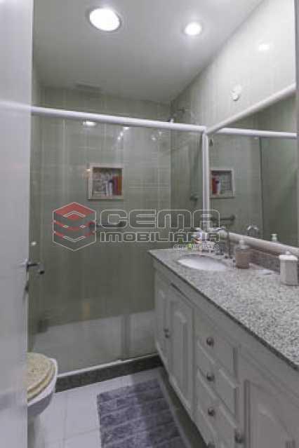 suite1 - Apto Laranjeiras para venda com 2 quartos, suíte, varanda, garagem e infraestrututa - LAAP24794 - 12