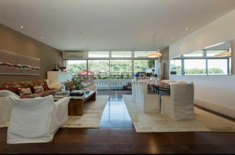 20201028_175828 - Apartamento para alugar com com 3 quartos e 3 VAGAS na garagem, Zona Sul, Rio de Janeiro, RJ. 210m2 - LAAP34084 - 1