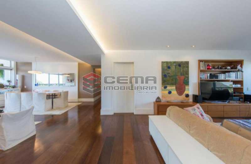 20201028_181135 - Apartamento para alugar com com 3 quartos e 3 VAGAS na garagem, Zona Sul, Rio de Janeiro, RJ. 210m2 - LAAP34084 - 8