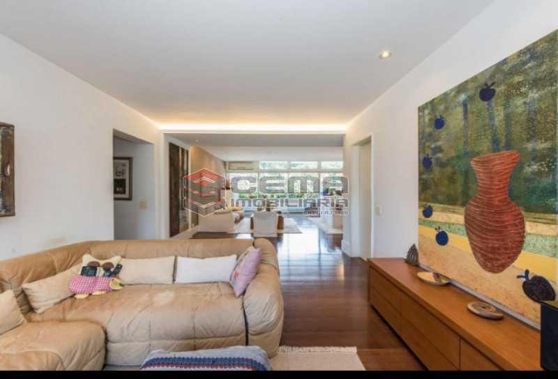 20201028_175946 - Apartamento para alugar com com 3 quartos e 3 VAGAS na garagem, Zona Sul, Rio de Janeiro, RJ. 210m2 - LAAP34084 - 9