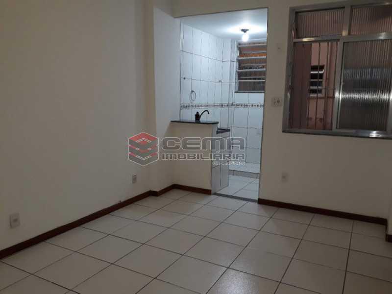 sala com cozinha americana - Kitnet/Conjugado 30m² à venda Rua Correa Dutra,Flamengo, Zona Sul RJ - R$ 380.000 - LAKI10345 - 4