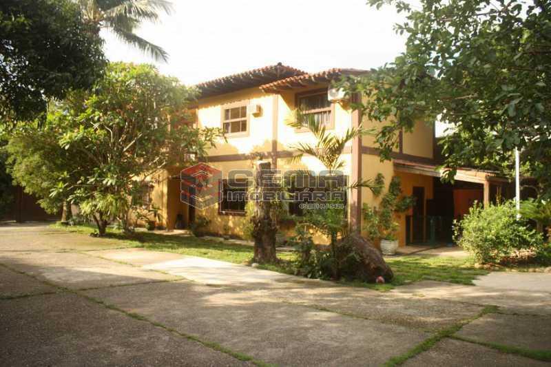 cab63942c24fe2c7e1592d30b139a1 - Casa à venda Rua Conselheiro Lampreia,Cosme Velho, Zona Sul RJ - R$ 2.100.000 - LACA40117 - 3