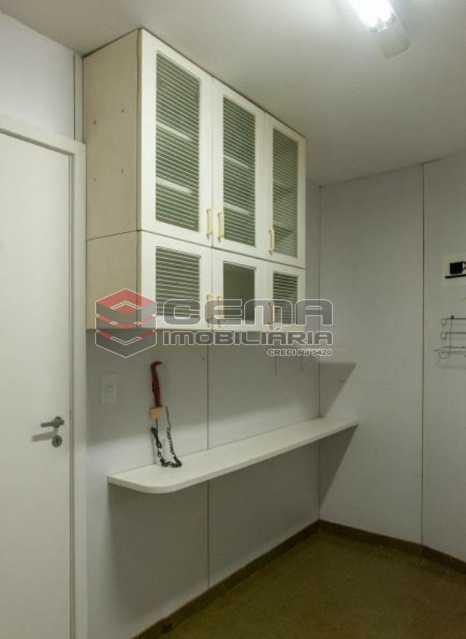 20201119_185357 - Apartamento para vender com 1 quarto e 1 vaga na garagem em Cosme Velho, Zona Sul Rio de Janeiro RJ. 77m2 - LAAP12724 - 10