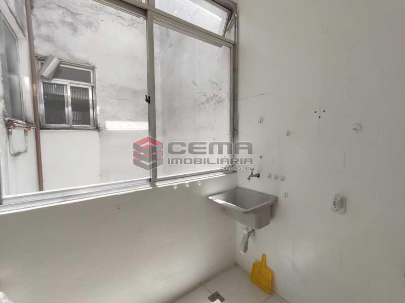area - Apartamento de 1 quarto e sala no Leblon - LAAP12744 - 14