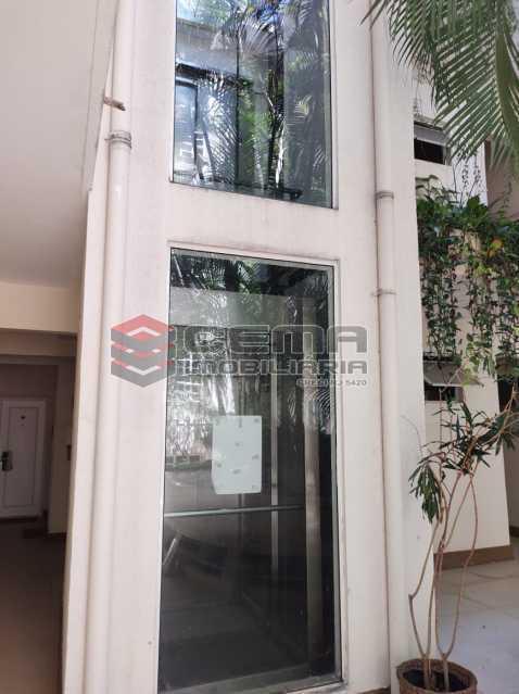 elevador panoramico - Apartamento de 1 quarto e sala no Leblon - LAAP12744 - 15