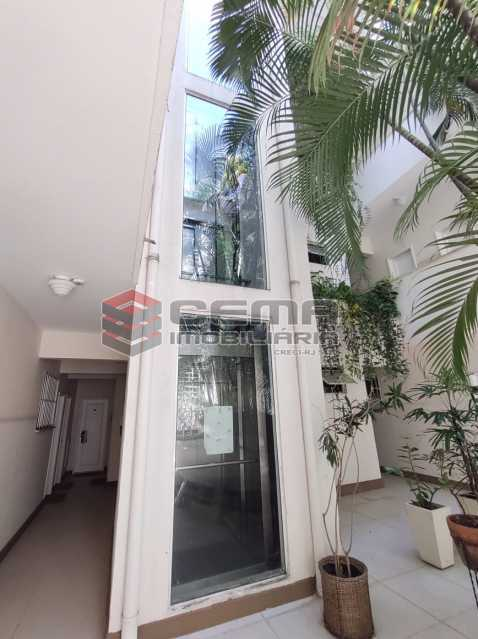 elevador panoramico - Apartamento de 1 quarto e sala no Leblon - LAAP12744 - 16