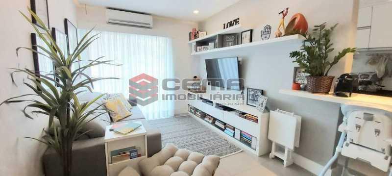 1 - Flat 2 quartos à venda Humaitá, Zona Sul RJ - R$ 1.200.000 - LAFL20034 - 3