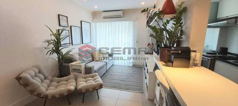 3 - Flat 2 quartos à venda Humaitá, Zona Sul RJ - R$ 1.200.000 - LAFL20034 - 4