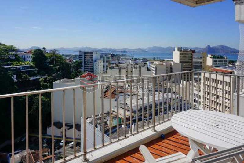 2 - Cobertura à venda Rua Hermenegildo de Barros,Glória, Zona Centro RJ - R$ 1.200.000 - LACO30293 - 3