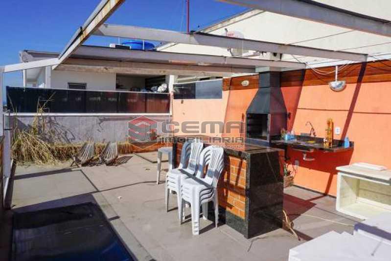 1 - Cobertura à venda Rua Hermenegildo de Barros,Glória, Zona Centro RJ - R$ 1.200.000 - LACO30293 - 1