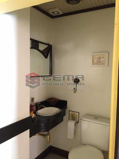 banheiro social - Casa em Condomínio à venda Rua São Clemente,Botafogo, Zona Sul RJ - R$ 1.800.000 - LACN40010 - 13