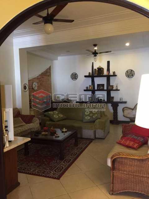 sala - Casa em Condomínio à venda Rua São Clemente,Botafogo, Zona Sul RJ - R$ 1.800.000 - LACN40010 - 6