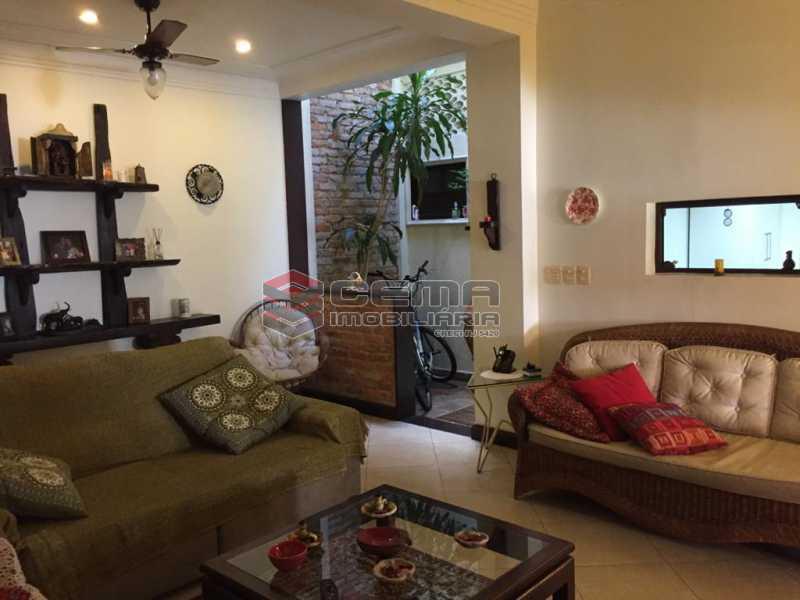 sala - Casa em Condomínio à venda Rua São Clemente,Botafogo, Zona Sul RJ - R$ 1.800.000 - LACN40010 - 7