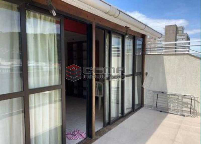 8 - Cobertura à venda Rua Visconde de Silva,Botafogo, Zona Sul RJ - R$ 950.000 - LACO10039 - 1