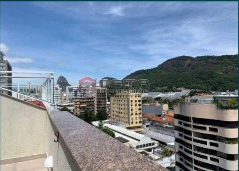 9 - Cobertura à venda Rua Visconde de Silva,Botafogo, Zona Sul RJ - R$ 950.000 - LACO10039 - 3