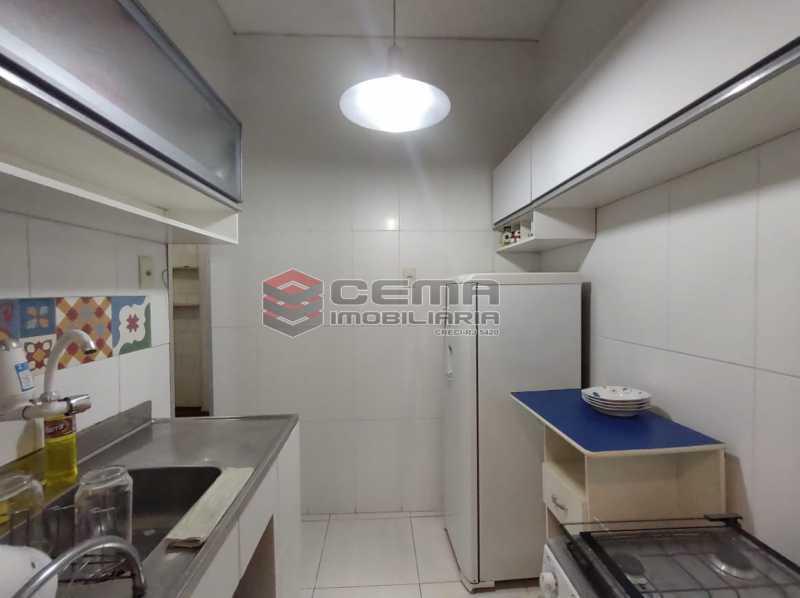 cozinha - Apartamento 2 quartos, mobiliado, Rua do Russel, GLÓRIA-RJ - LAAP24960 - 16