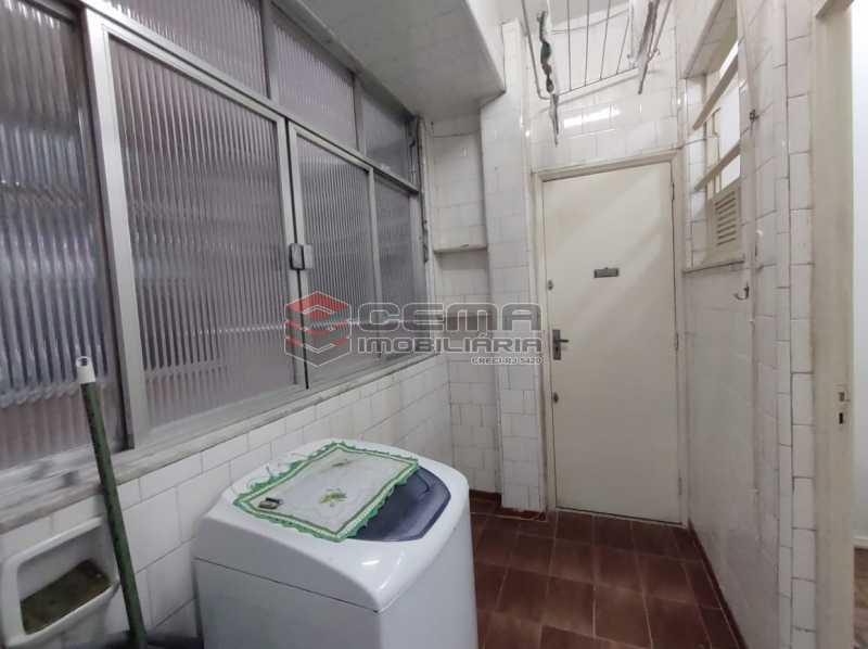 area de serviço - Apartamento 2 quartos, mobiliado, Rua do Russel, GLÓRIA-RJ - LAAP24960 - 18
