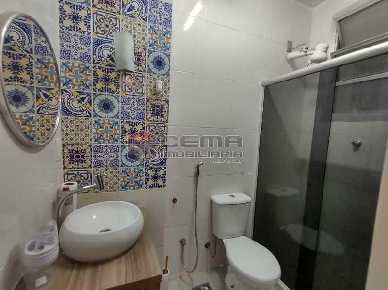banheiro social - Apartamento 2 quartos, mobiliado, Rua do Russel, GLÓRIA-RJ - LAAP24960 - 13