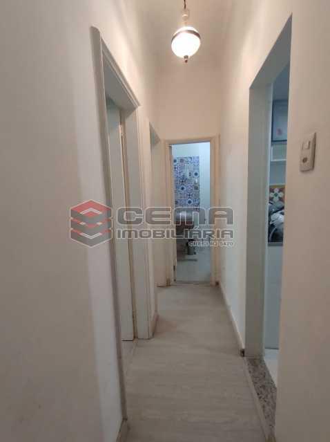corredor - Apartamento 2 quartos, mobiliado, Rua do Russel, GLÓRIA-RJ - LAAP24960 - 7