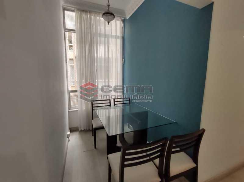 sala - Apartamento 2 quartos, mobiliado, Rua do Russel, GLÓRIA-RJ - LAAP24960 - 4