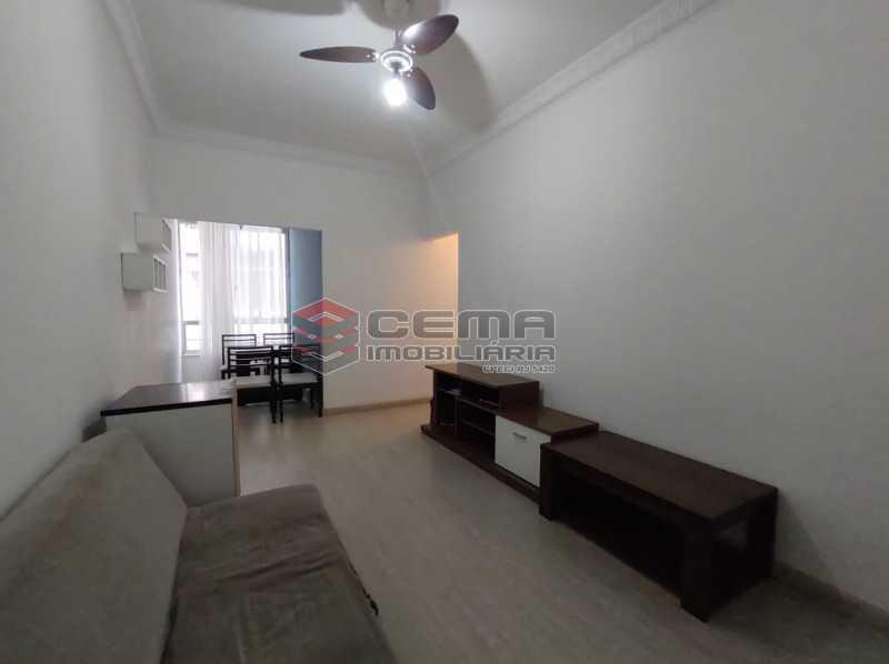 sala - Apartamento 2 quartos, mobiliado, Rua do Russel, GLÓRIA-RJ - LAAP24960 - 1