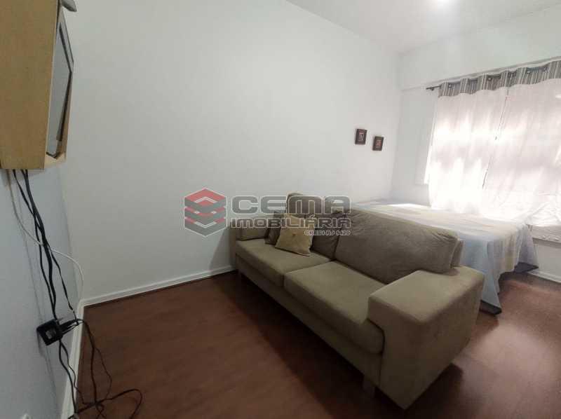 sala e quarto - Excelente Conjugado mobiliado no Flamengo, perto do metrô. - LAKI10383 - 3