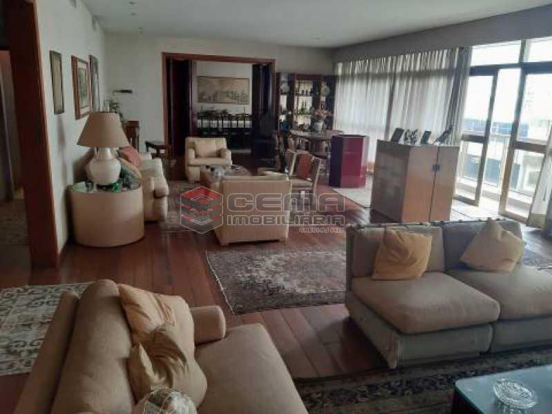 8d6f2fc06a1ba38243ea9b8e232d28 - Apartamento 4 quartos à venda Leblon, Zona Sul RJ - R$ 7.150.000 - LAAP40928 - 1