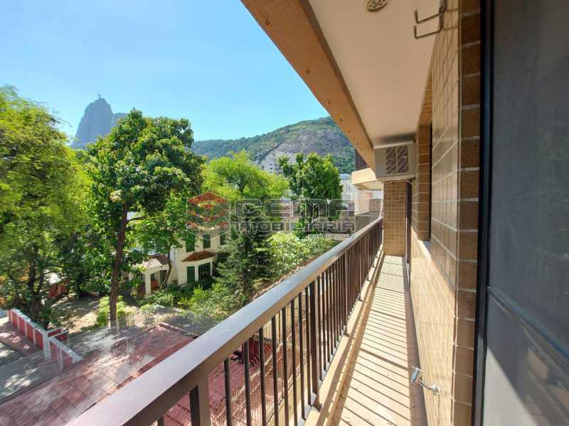 varanda.vista - Apartamento 2 quartos à venda Vidigal, Rio de Janeiro - R$ 1.350.000 - LAAP24992 - 3