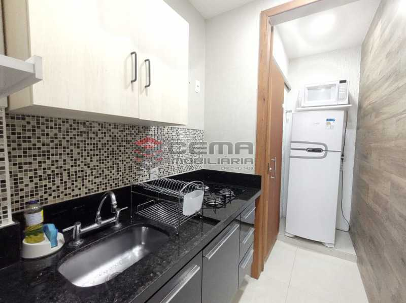 COZINHA - Excelente apartamento quarto e sala mobiliado no FLAMENGO - LAAP12784 - 13