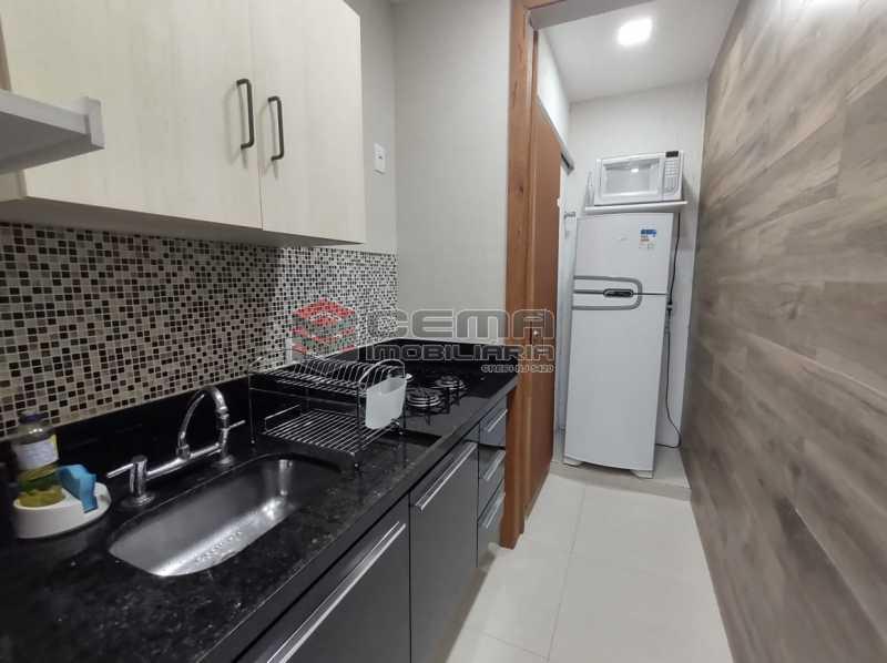 COZINHA - Excelente apartamento quarto e sala mobiliado no FLAMENGO - LAAP12784 - 14