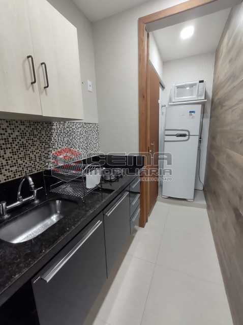 COZINHA - Excelente apartamento quarto e sala mobiliado no FLAMENGO - LAAP12784 - 15
