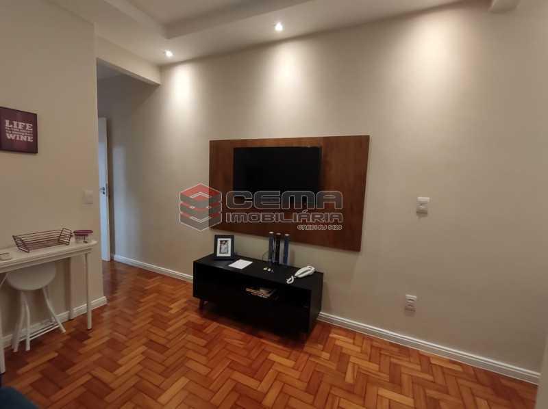 SALA - Excelente apartamento quarto e sala mobiliado no FLAMENGO - LAAP12784 - 4