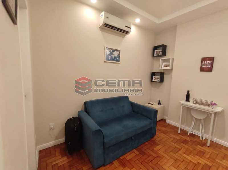 SALA - Excelente apartamento quarto e sala mobiliado no FLAMENGO - LAAP12784 - 3