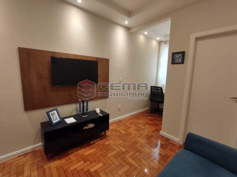 SALA - Excelente apartamento quarto e sala mobiliado no FLAMENGO - LAAP12784 - 5